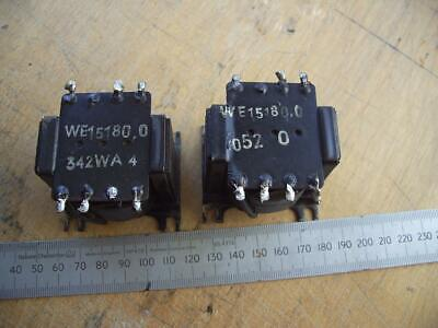 £9.49 • Buy Vintage Philips Valve Output Transformers Single-ended ECL82  Pair
