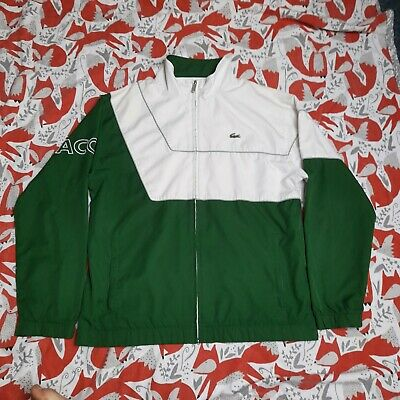 £18 • Buy Lacoste Sport Jacket Tracksuit Top Size 4 Green Great Condition