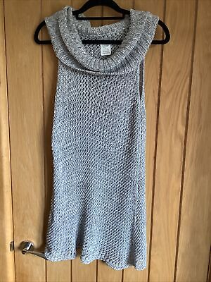 £9.99 • Buy SARAH PACINI Knitted Sleevless Tunic  One Size