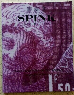 £12.30 • Buy Spink Stamp & Covers Of The World. London May 2009. Auction Catalogue. 83 Pages