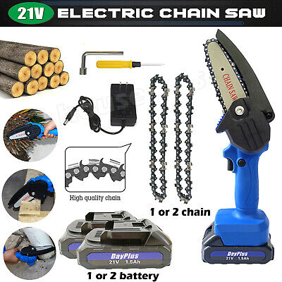 View Details Electric Fashion Popular Lithium Pruning Chain Cordless Household Saw 550Watt UK • 50.30£