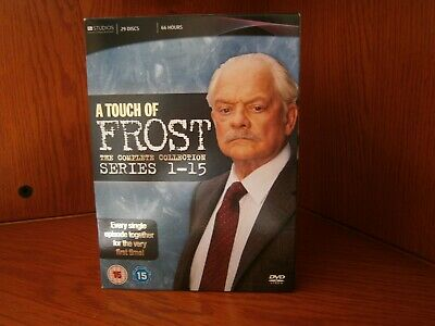 £21 • Buy A Touch Of Frost - Series 1-15 - Complete (Box Set)