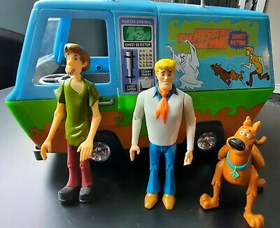 £8 • Buy 2005 Scooby-doo The Mystery Machine Petrol Van And 3 Figures By Hanna Barbera