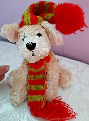 £3.50 • Buy Small Cute Dog With Hat And Scarf Simply Soft Collection Soft Plush By Keel Toys