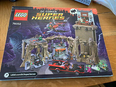 £179 • Buy Lego 76052 Batman Classic Batcave With Instructions, All Figs + Extra Batmobile