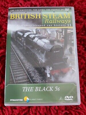 £5 • Buy British Steam Railways DVD Collection  By DeAgostini  No.11 The Black 5s