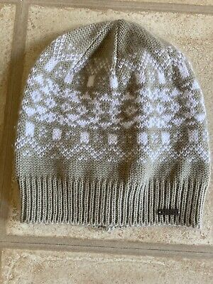 £0.99 • Buy Tog 24 Fairisle Beige And White Hat One Size Worn Once