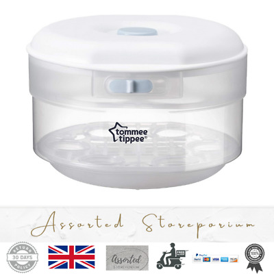 £21.97 • Buy Tommee Tippee Essentials Microwave Steriliser Up To 4 Bottles 4 Mins Quick Cycle