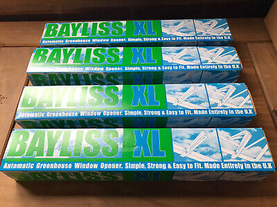£70 • Buy 4 X Bayliss XL Autovent Automatic Greenhouse Window Roof Vent Opener Auto Vent