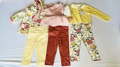 £3.90 • Buy BRAND NEW Mixed TU Baby Girl Clothes 9-12 Months Toddler Clothing Bundle Joblot