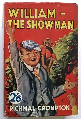 £40 • Buy Richmal Crompton , William The Showman , Second Edition ,1937 , Newnes