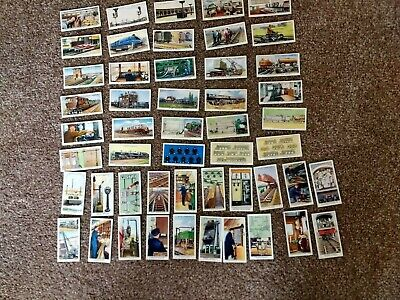 £4.99 • Buy W.d & H.o Wills Collectors Cigarette Cards Railway Equipment Full Set Of 50