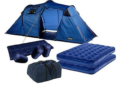 £60 • Buy Excellent Condition Halfords 4 Person Tent Used Once Plus 3 Camping Lights