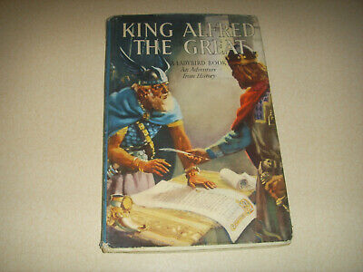 £4.99 • Buy Vintage Ladybird  King 👑  Alfred The Great History Book With Dust Jacket