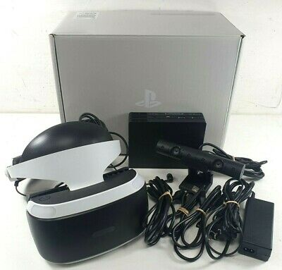 AU222.50 • Buy Sony Playstation 4 PS4 VR Headset Bundle - Bids From $1.00