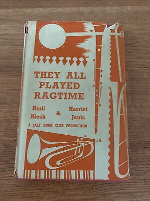 £6.99 • Buy Jazz Book Club No 25 - They All Played Ragtime