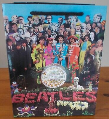 £3.95 • Buy The Beatles Sgt. Peppers Lonely Hearts Club Band, Glossy Gift Bag. Unused.