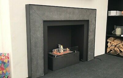 £1000 • Buy Bespoke Bio Ethanol Fireplace. Includes Burner And Surround As Shown In Photos.