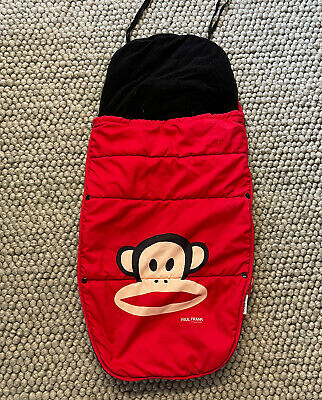 £20 • Buy Bugaboo Paul Frank Footmuff- Julius Monkey- Red Cosy Toes- Fits Cameleon, Bee