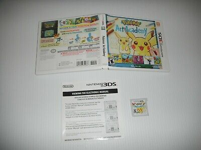 $23.50 • Buy Pokemon Art Academy - COMPLETE  - NINTENDO 3DS - FAST SHIPPING 826a