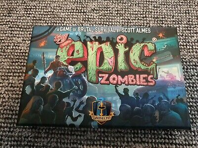 £30 • Buy Tiny Epic Zombies Deluxe Edition Boardgame