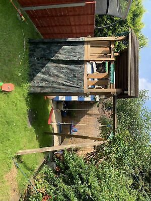 £300 • Buy Used Jungle Gym Cottage Climbing Frame Swing Monkey Swing Feel Free To View Item