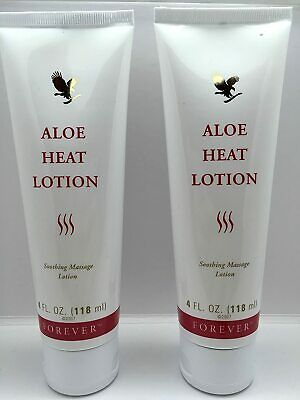 £31.37 • Buy Forever Living Aloe Heat Lotion 4oz. (Two Pack)