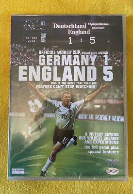 £0.95 • Buy Germany 1 England 5 DVD 2001 New And Sealed