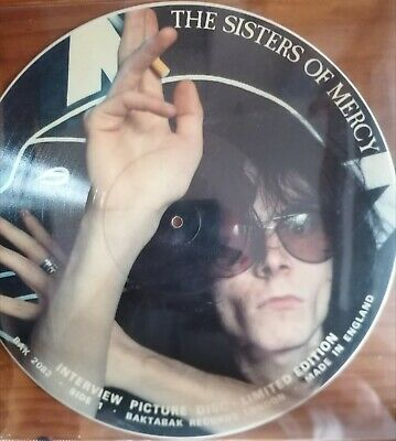£20 • Buy Sisters Of Mercy Limited Edition  Interview 12 Inch Picture Disc