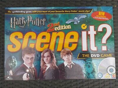 £9.95 • Buy Harry Potter 2nd Edition Scene It DVD Trivia Game