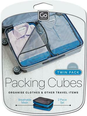 AU19.55 • Buy Go Travel Twin Packing Cubes