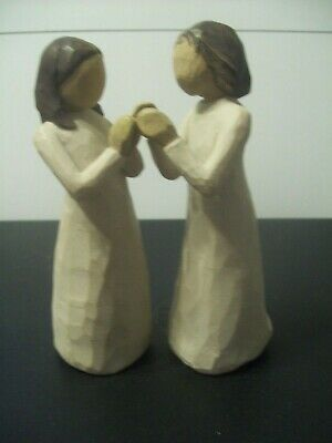 £8.01 • Buy WILLOW TREE FIGURINES  SISTERS BY HEART    TWO  5 I/2   Figurines 2000