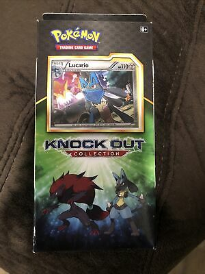$20.50 • Buy Pokemon Knock Out Collection Box Vintage 2 Booster Packs/ Lucario / SEALED NEW!