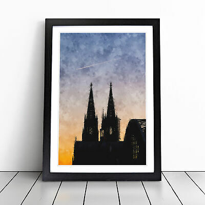 £18.95 • Buy The Cologne Cathedral Vol.2 Painting Wall Art Framed Print Picture