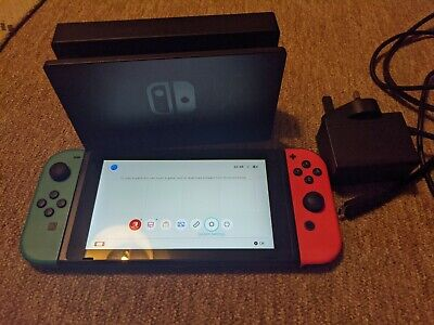 AU377.44 • Buy Nintendo Switch Console With Neon Blue/Neon Red Joy-Con Controllers, 2017
