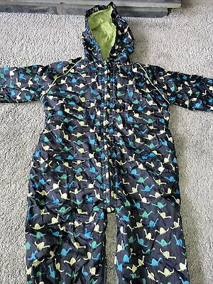 £4.99 • Buy Blue Zoo Dinosaur Puddle Suit 3-4years