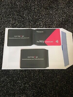 £2.99 • Buy Thameslink  OYSTER CARD TRAVEL TRAIN BUS TICKET WALLET  2 HOLDER COVERS  NEW