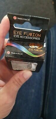 £9 • Buy Eye Fusion Funky Clock Contacts Clubbing New Year Eye Accessories