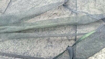 £10 • Buy Trampoline Surround Net With Zip, Poles And Clips - For 10ft Trampoline