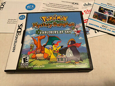 $47.99 • Buy Pokemon Mystery Dungeon Explorers Of Sky Nintendo Ds Case Manual Only NO Game