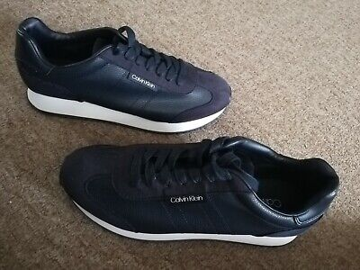 £38 • Buy Mens Calvin Klein Trainers Lace Up Shoes. UK 8/EUR 42. NEW. RRP £110