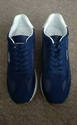£38 • Buy GENUINE Calvin Klein  Mens Trainers Lace Up Shoes.UK 9/EUR 43. New