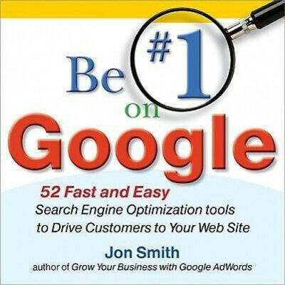 AU41.05 • Buy Be #1 On Google:  52 Fast And Easy Search Engine Optimization Tools To Drive