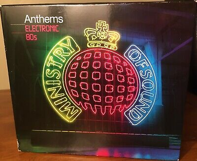 £3.99 • Buy Anthems Electronic 80s 3XCD Ministry Of Sound 2010 Synth-Pop House Like New