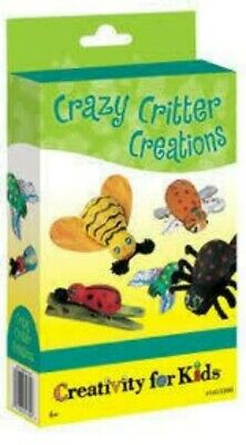 £4.49 • Buy Creativity For Kids Crazy Critter Creations Mini Kit. Age 6+