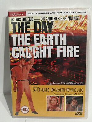£4.99 • Buy The Day The Earth Caught Fire Edward Judd Dvd New And Sealed - Free Postage