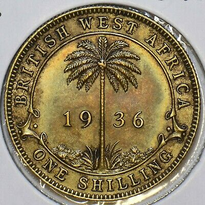 £28.51 • Buy British West Africa 1936 Shilling 297786 Combine Shipping