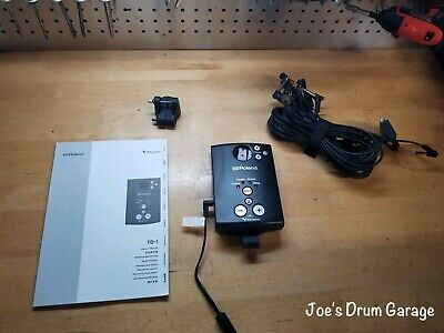 AU249.18 • Buy Roland TD-1 V-Drum Module W/Mount, Wiring Harness, And Power Supply - E8L1216