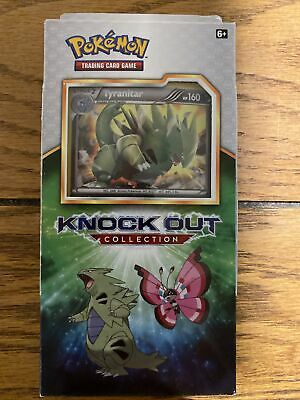 $20 • Buy Pokémon TCG Knock Out Collection Tyranitar Pack Brand New Cards