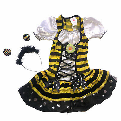 £12.44 • Buy Rubie's Girls Bumblebee Costume Size Small 4 - 6 Halloween Bee Dress Up Outfit